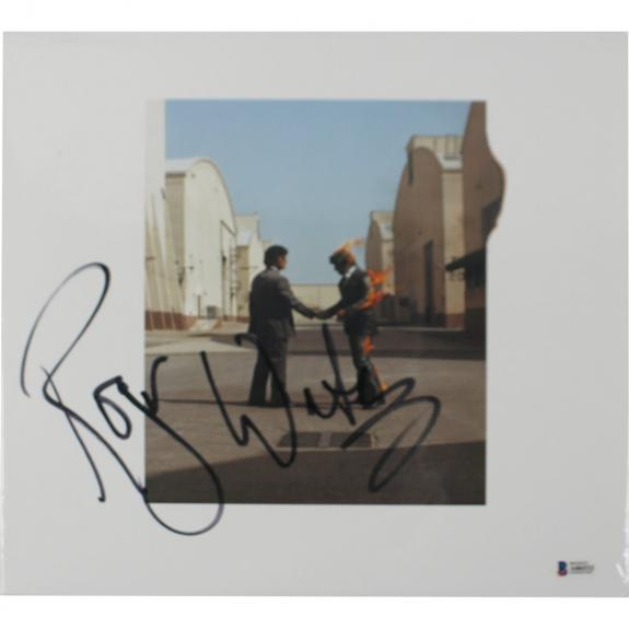 Roger Waters Pink Floyd Signed Vinyl Record Album Beckett (Hand Shake)