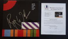 Roger Waters Pink Floyd The Final Cut Autographed Signed LP Beckett Certified
