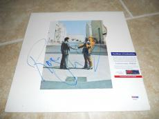 Roger Waters Pink Floyd Wish You Here Signed Autographed LP Record PSA Certified