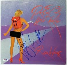 Roger Waters Pros & Cons Of Hitch Hiking Signed Album Cover W/ Vinyl Psa #w11639