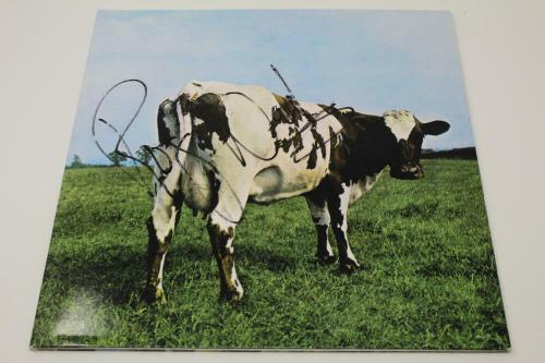 Roger Waters Signed Autograph Album Record Pink Floyd Atom Heart Mother - Jsa
