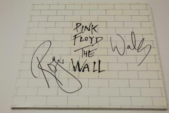 Roger Waters Signed Autograph Album Vinyl Record - Pink Floyd, The Wall Real Coa