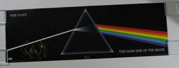 Roger Waters Signed Autograph Concert Tour Poster - Dark Side Of The Moon Psa