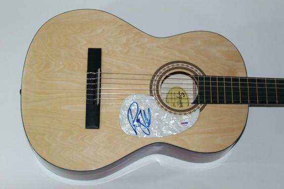 Roger Waters Signed Autograph Fender Brand Acoustic Guitar - Pink Floyd Wall Psa