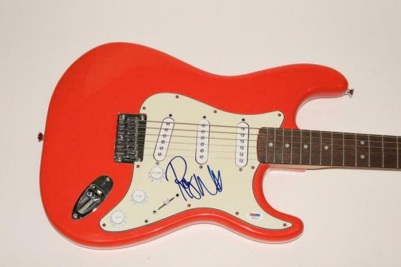 Roger Waters Signed Autograph Fender Brand Electric Guitar - Pink Floyd Wall Psa