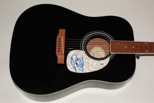 Roger Waters Signed Autograph Gibson Epiphone Acoustic Guitar - Pink Floyd Psa