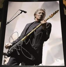 Roger Waters Signed Autograph Pink Floyd Legend Guitar 11x14 Photo Jsa L74027