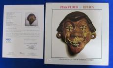 Roger Waters Signed Autograph Pink Floyd Relics LP Vinyl Album JSA Y57049
