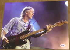 "Roger Waters Signed Autograph Pink Floyd ""wall"" Stage 11x14 Photo Psa/dna W94442"