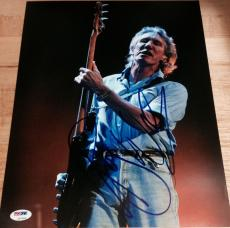 """Roger Waters Signed Autograph Pink Floyd """"wall"""" Stage 11x14 Photo Psa/dna Z97628"""