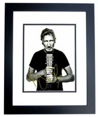 Roger Waters Signed - Autographed PINK FLOYD 11x14 inch Photo BLACK CUSTOM FRAME - Guaranteed to pass PSA or JSA