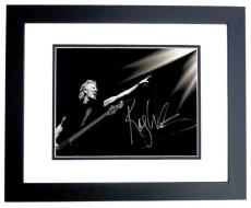 Roger Waters Signed - Autographed PINK FLOYD 11x17 inch Photo BLACK CUSTOM FRAME - Guaranteed to pass PSA or JSA