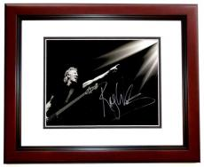 Roger Waters Signed - Autographed PINK FLOYD 11x17 inch Photo MAHOGANY CUSTOM FRAME - Guaranteed to pass PSA or JSA