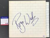 Roger Waters Signed Autographed The Wall Album Pink Floyd Psa/dna Coa #s23668
