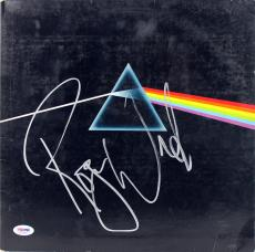 Roger Waters Signed Dark Side Of The Moon Album Cover W/ Vinyl PSA #AC63003