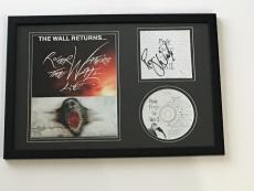 "Roger Waters Signed Framed 12x18 ""the Wall"" Cd Photo Display Pink Floyd Jsa Coa"