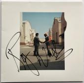 Roger Waters signed Pink Floyd album wish you were here autographed beckett loa