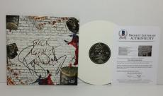 "Roger Waters Signed Pink Floyd ""Back Against The Wall"" Vinyl Record Beckett"