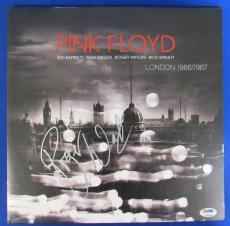 Roger Waters Signed Pink Floyd London 1966/1967 LP Vinyl Album PSA/DNA Z97989