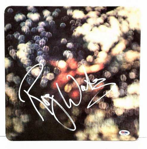 "ROGER WATERS Signed PINK FLOYD ""Obscured By Clouds"" Album LP PSA/DNA #AD97648"