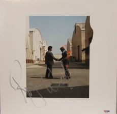 "ROGER WATERS Signed PINK FLOYD ""Wish You Were Here"" Album LP PSA/DNA #AA33957"