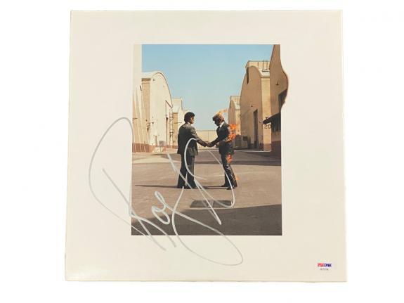 Roger Waters Signed Pink Floyd Wish You Were Here Vinyl Album Psa/dna Coa