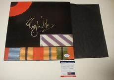 Roger Waters The Wall Pink Floyd Final Cut Signed Record Album Lp Psa/dna U78521