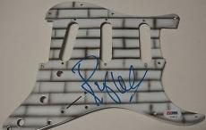 "Roger Waters ""the Wall"" Pink Floyd Signed Guitar Pickguard Psa/dna Coa L33126"