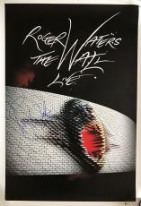 Roger Waters the wall Pink Floyd signed print poster 306 of 500 with beckett coa