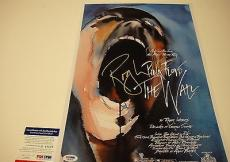 Roger Waters The Wall Pinkfloyd Signed Photo Movie Poster Psa/dna Coa V Q60579