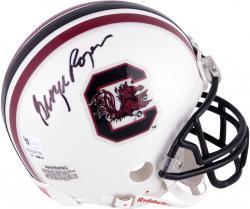 George Rogers Autographed South Carolina Mini Helmet