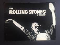 ROLLING STONES 1972 CONCERT TOUR PROGRAM EXILE ON MAIN STREET Nice Mick Jagger