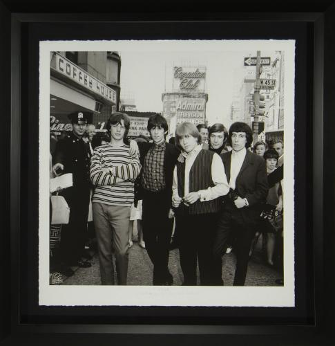 Rolling Stones 48×48 Fine Art Photograph Framed Limited Edition