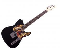 Rolling Stones Keith Richards Mick Taylor Signed Album LP Tele Guitar AFTAL UACC