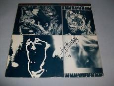 "ROLLING STONES KEITH RICHARDS signed ""EMOTIONAL RESCUE"" RECORD LP PSA/DNA LOA"