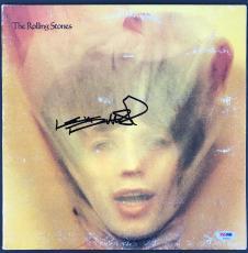 Rolling Stones Keith Richards Signed Goats Head Soup Album Psa/dna Gem Mint 10