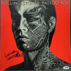 Rolling Stones Keith Richards Signed Tattoo You Album Cover Psa/dna #w04856