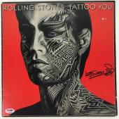 Rolling Stones Keith Richards Signed Tattoo You Record Album Psa/dna #aa03422