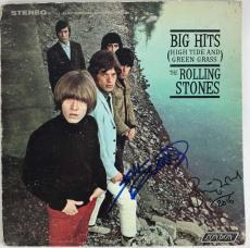 Rolling Stones Kieth Richards Ronnie Wood Signed Autographed Album Beckett BAS