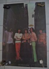 Rolling Stones Music Group 1980 Original Poster 34x34 Vintage Authentic