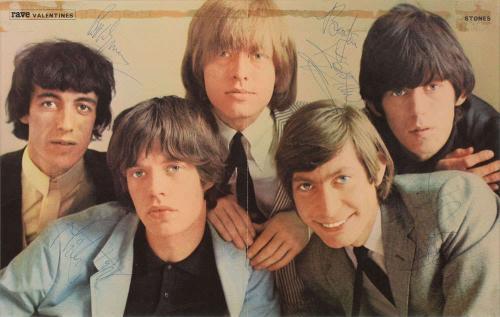 Rolling Stones Signed Autographed 16x11 Photo Jones Jagger Richards Beckett BAS