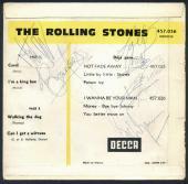 Rolling Stones Signed Autographed 1964 EP Album Jones Jagger Richards Beckett