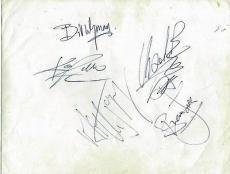 Rolling Stones Signed Autographed 5x7 Photo Jagger Richards JONES +2 PSA/DNA