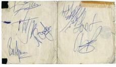 Rolling Stones Signed Autographed Album Page Jones Jagger +3 PSA/DNA