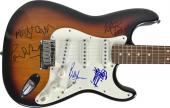 Rolling Stones Signed Autographed Guitar Jagger Richards Wyman Watts +2 JSA