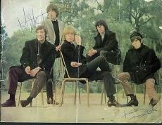 Rolling Stones Signed Autographed Tour Program JONES Jagger Richards +2 PSA/DNA