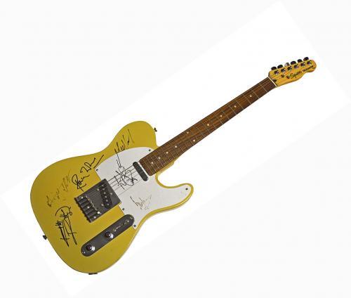 Rolling Stones X6 Autographed Signed Fender Tele AFTAL UACC RD COA