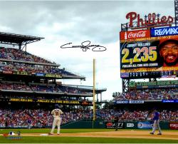 Jimmy Rollins Autographed 16x20 Photo