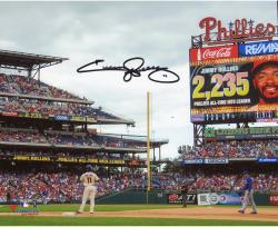 Jimmy Rollins Philadelphia Phillies Autographed 8x10 Photo