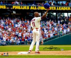 Jimmy Rollins Autographed Photo - 16x20
